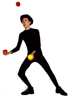 James Jay's lyrical juggling.